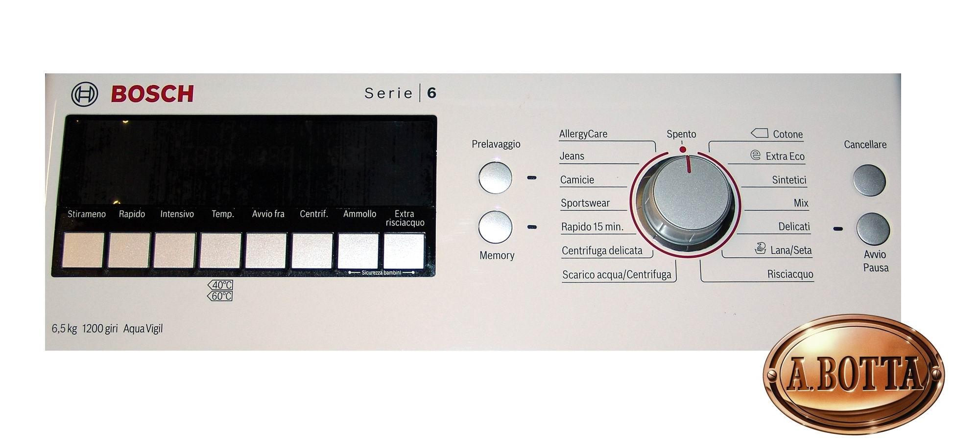 Lavatrice A Carica Dallu0027alto Bosch Wot24425 Bianco 6,5 Kg