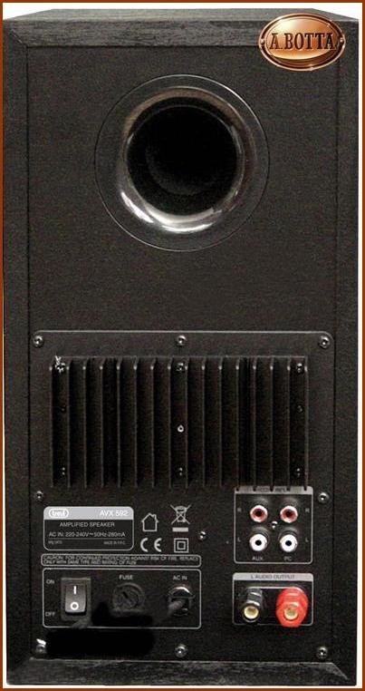 Casse audio amplificate 50 50 watt trevi avx 592 100 w - Casse audio per casa ...