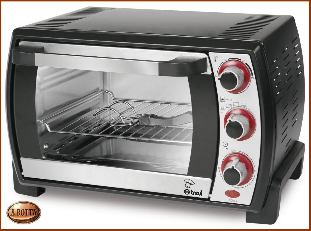 Forno elettrico ventilato fornetto trevi cl 236 nero 23 litri 1380 w con grill ebay - Forno elettrico con microonde ...